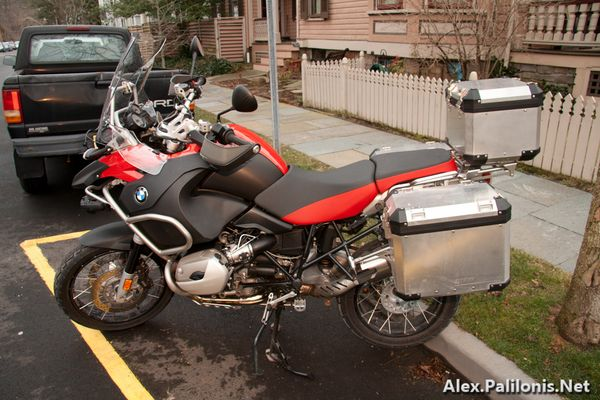BMW R1200GSA Left
