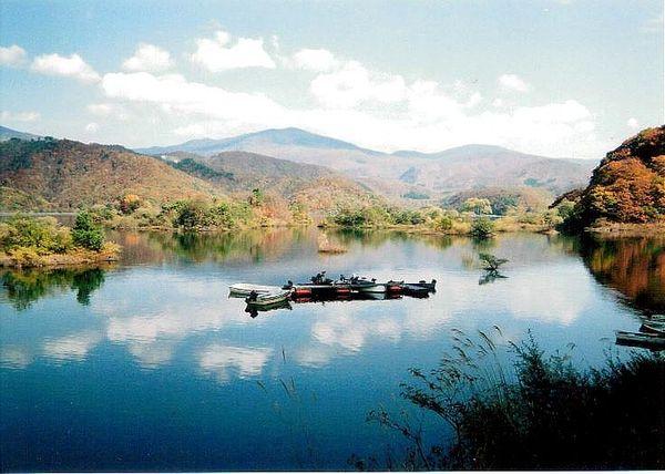 Lake Akimotoko, Japan