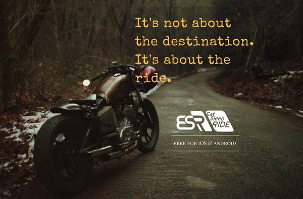 Ride farther, better, faster, but most importantly, enjoy the ride. #ESRapp