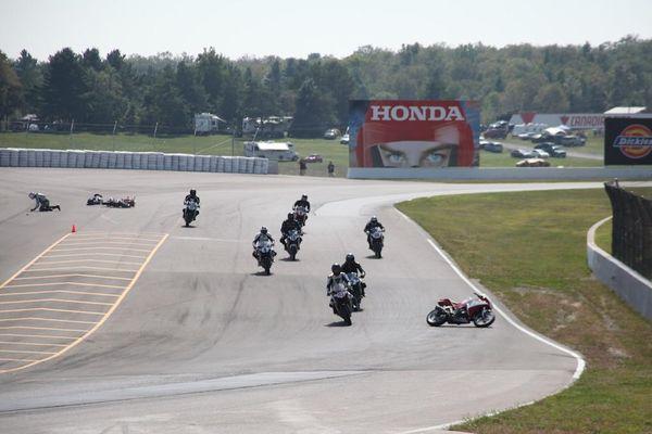 Race #10, CBR250R Crash5