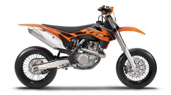 2013 KTM 450 SMR - right side view