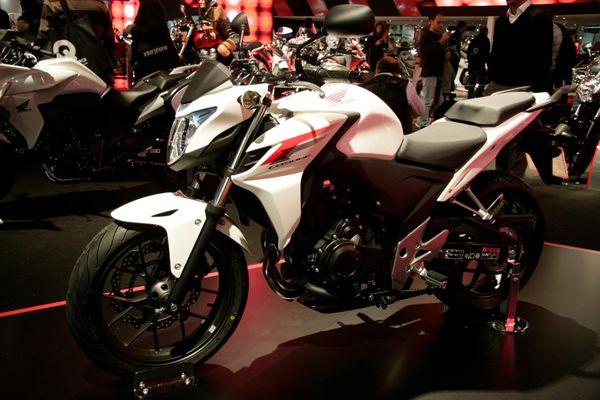 Honda CBR500F at launch