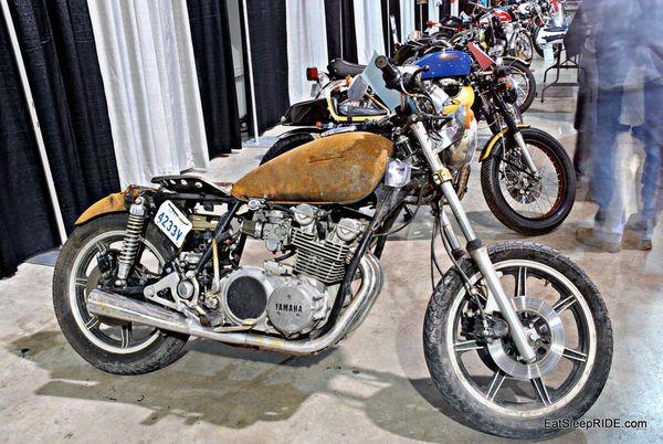Rusty retro Yamaha