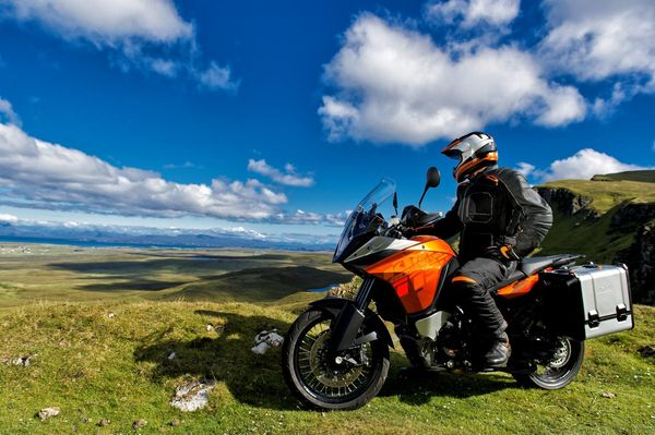 2013 KTM 1190 Adventure R in action 1