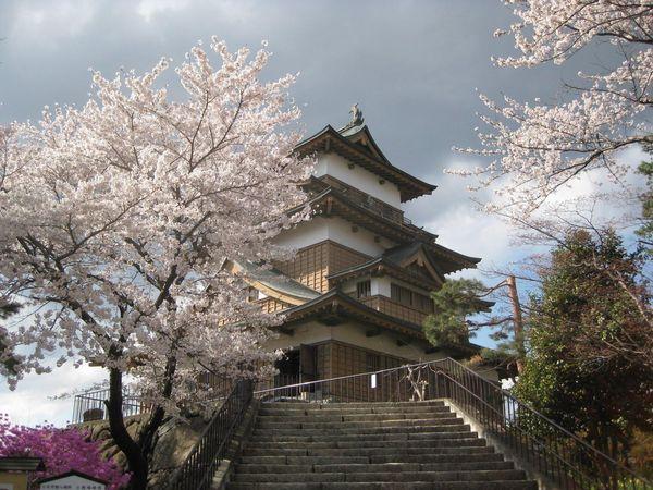 Tashima Castle, Suwa, Japan