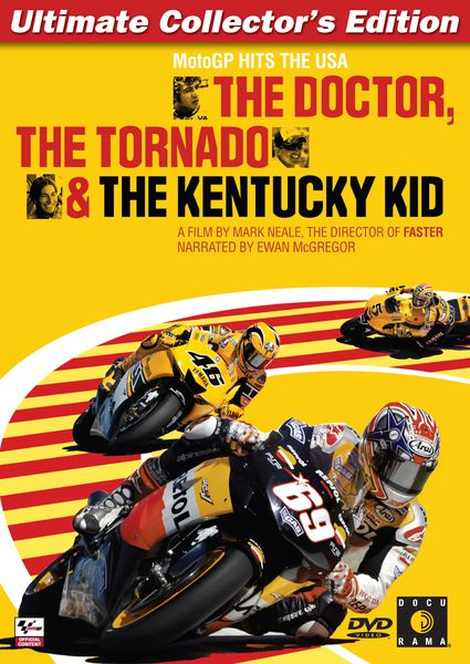 The Doctor, the Tornado and the Kentucky Kid - 2006 Documentary about the US Grand Prix held at Laguna Seca