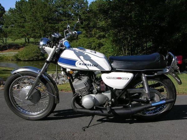 Kawasaki H1 Mach III 1969