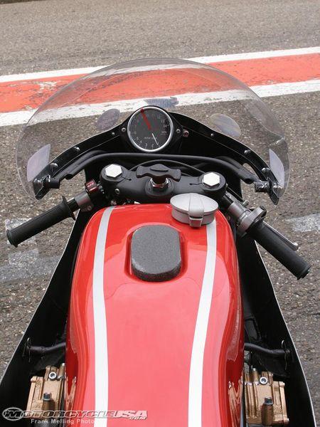 Honda RC181 - A pretty spartan machine, but what did you expect?