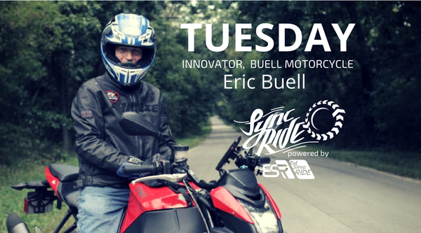 ESR had the privilege to take a ride with Erik Buell on his #1190SX EBR motorcycle.