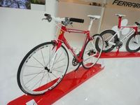 Not All the Bikes at EICMA in Milan were of the Motorized Variety