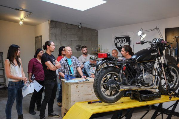 Moto revere diy moto garage gets it right blogpost eatsleepride moto revere diy moto garage gets it right toronto ontario canada in the midst of a workshop solutioingenieria Choice Image