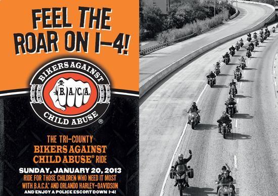 Bikers Against Child Abuse Benefit - Jan 20
