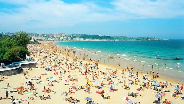 Beach of El Sardinero, Santander