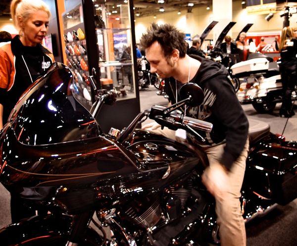 Harley Davidson CVO Screamin' Eagle