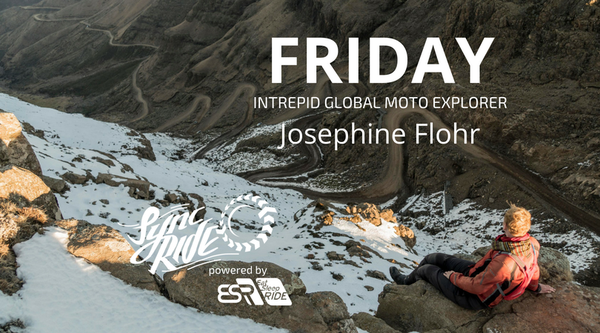 FRIDAY tackle a mountain road with Josephine Flohr
