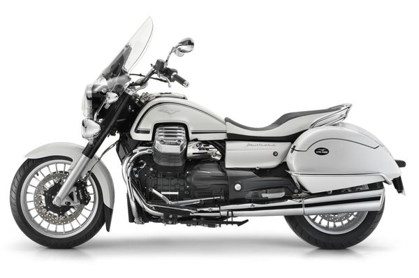 2013 Moto Guzzi California 1400 Touring Eldorado - left side view