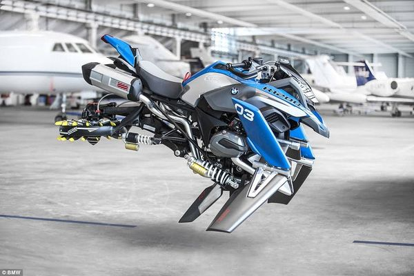 Lego and BMW's Hover Ride