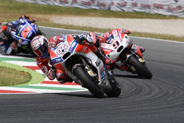 Both the satellite and factory Ducati's dominated the 2017 Italian GP