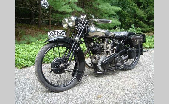 1928 Brough Superior SS 100