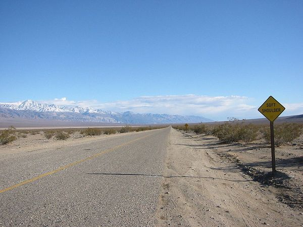 Highway 190 Death Valley