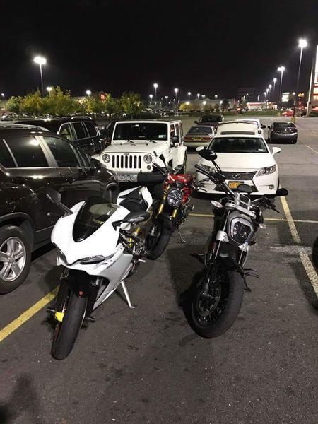 Tuesday night bike night meet and dinner