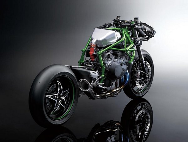 Heres Kawasaki Ninja H2r With Wings Bike Eatsleepride