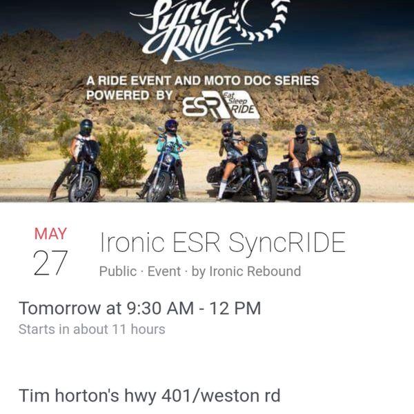 Ironic ESR SyncRide