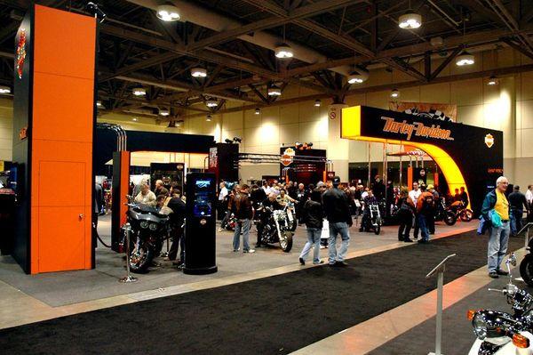 Harley-Davidson at the Toronto Motorcycle Show