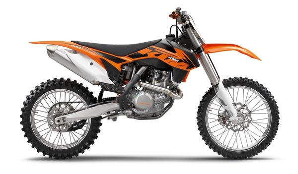 2013 KTM 450 SX-F - right side view