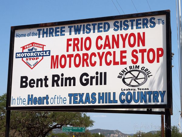 Frio Canyon Motorcycle Shop
