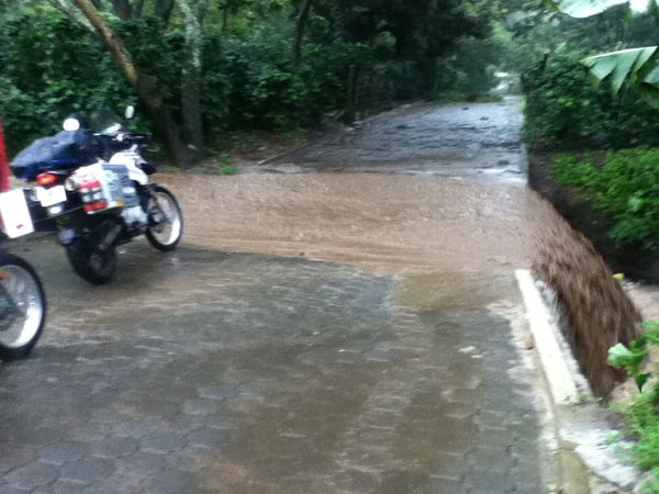 Just one of the many new water crossings
