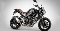 Suzuki tests the waters with a scrambler version of their naked cult favorite; 2017 SV650 Scrambler