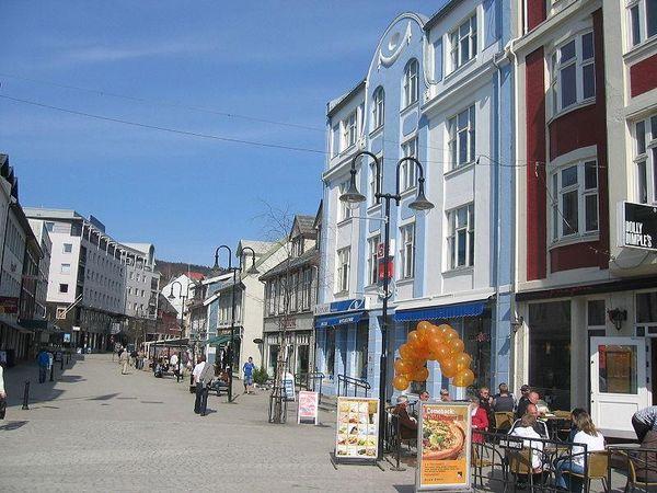 A street in Harstad