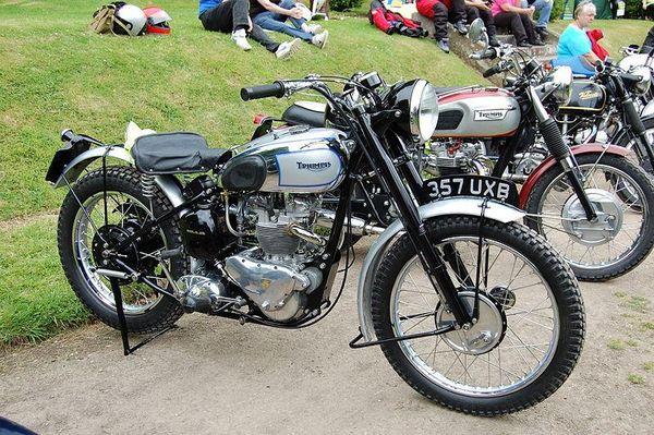 1951 Triumph 500 Trophy TR5