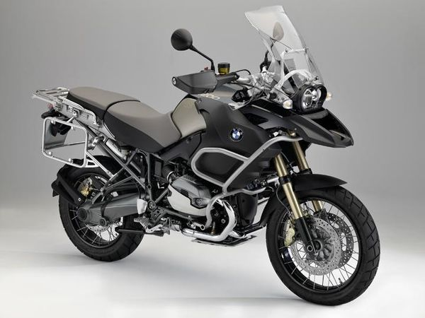 BMW R 1200 GS Adventure - front quarter view