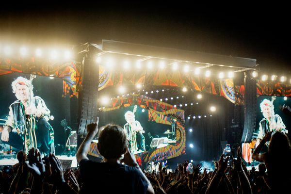 The Rolling Stones in Havana.