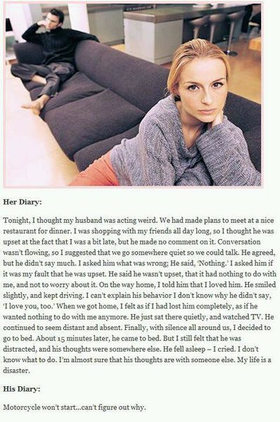 His and Her Diaries