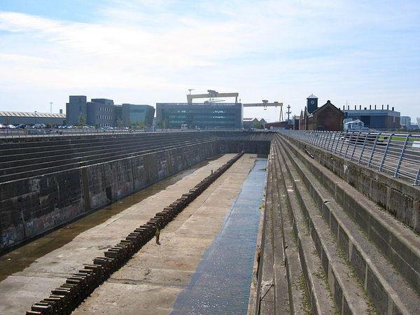 Trockendock, Titanic Dry-docks, Belfast, Ireland
