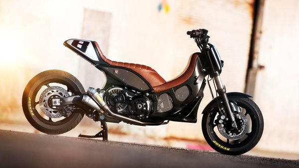 Hyper Modified Yamaha TMAX by RSD