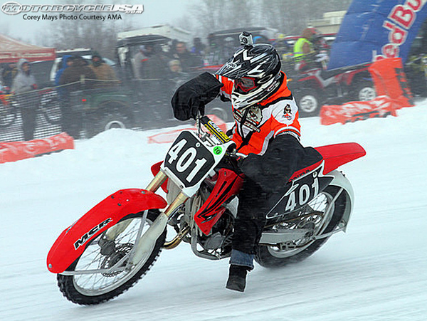 Get ready for the 2012 AMA Ice Race Grand Championships
