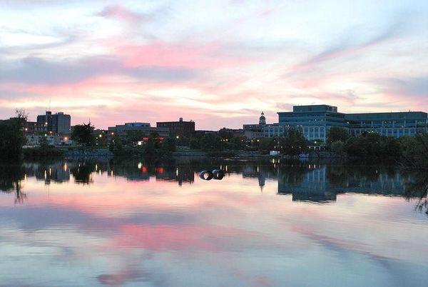 Peterborough, Ontario Skyline