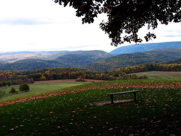 Kentuck Knob mountains