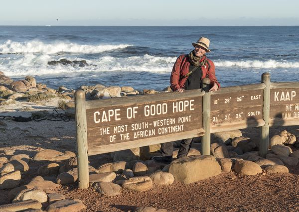 The Cape of Good Hope with Josephine Flohr and Daniel Rintz for EatSleepRIDE
