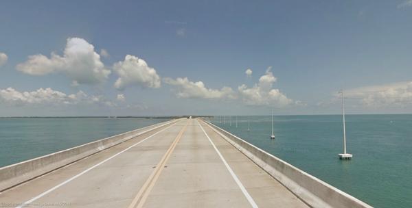 Florida Keys = Blue Sky, Sun and Ocean Water.