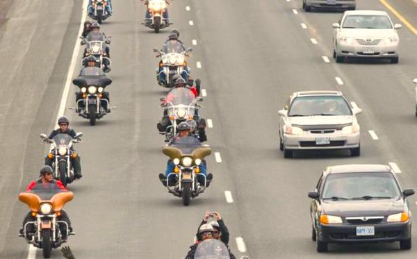 Safety tips for riding on highways