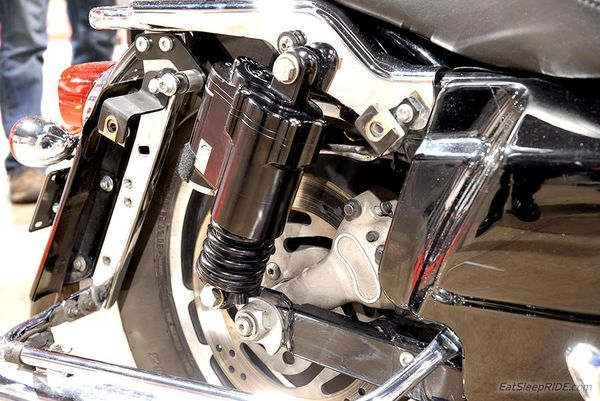 Hydraulic Active-Suspension for Harley Davidson by CDC