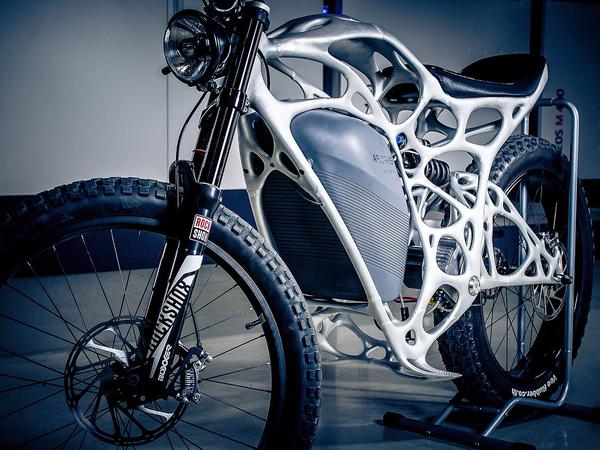 Light Rider 3D Printed Electric Motorbike