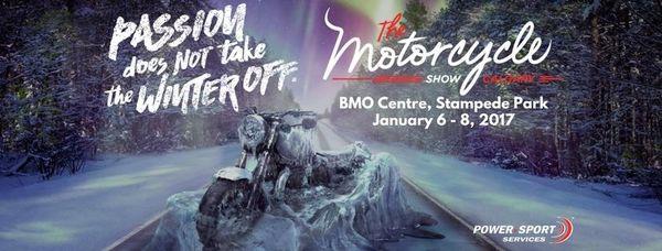 2017 Calgary Motorcycle Show, Jan 6-8