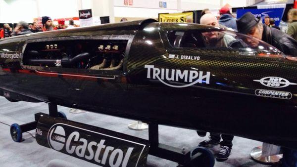 Triumph Castrol Rocket III Streamliner