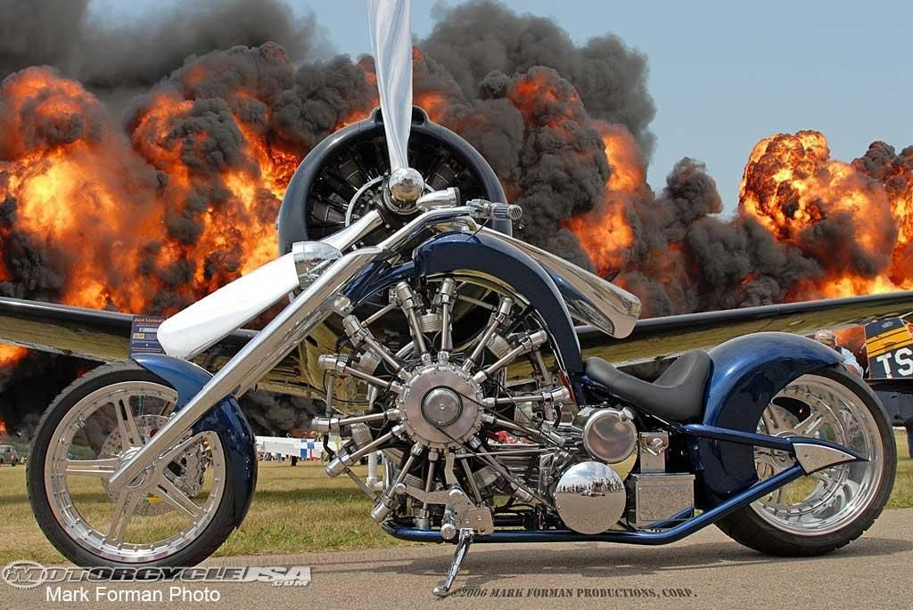 Airplane Engine Powered Motorcycle | Blogpost | EatSleepRIDE